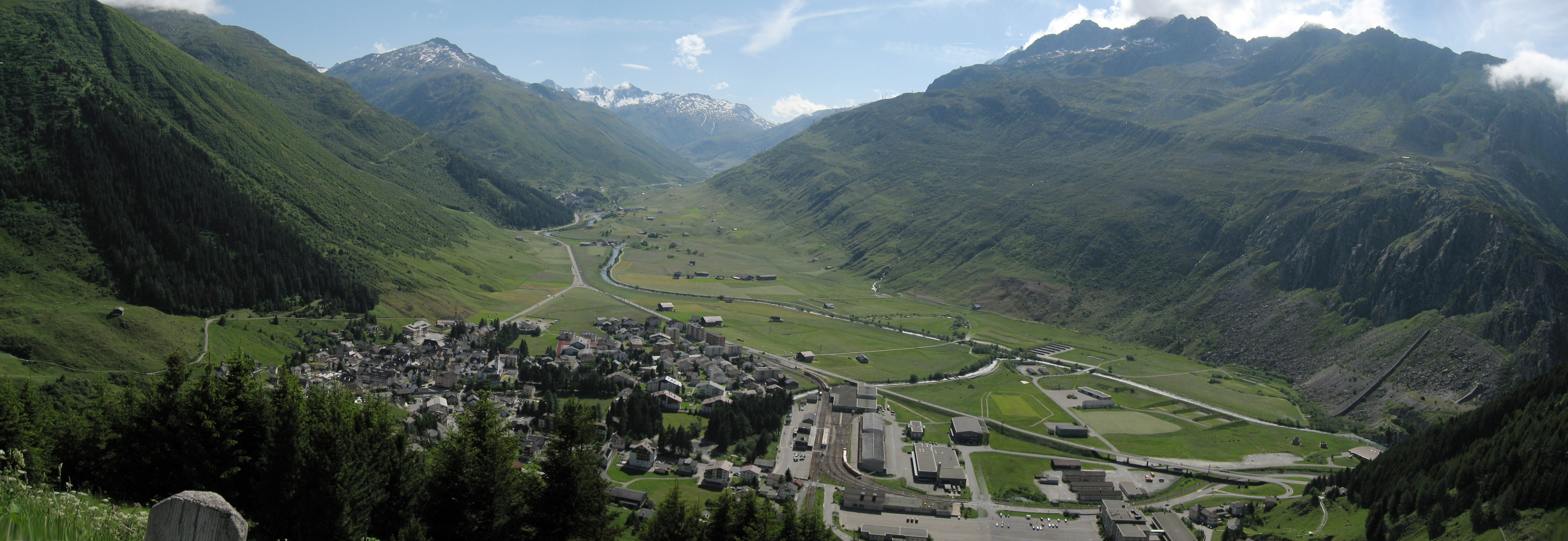 Andermatt Switzerland  city photos gallery : In the town of Andermatt, Switzerland, here we are aprs motorcycling ...