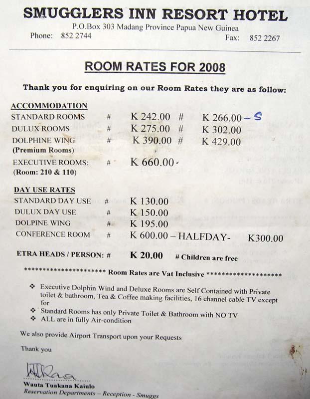 Retreat Beach Resort Lundu Room Rates