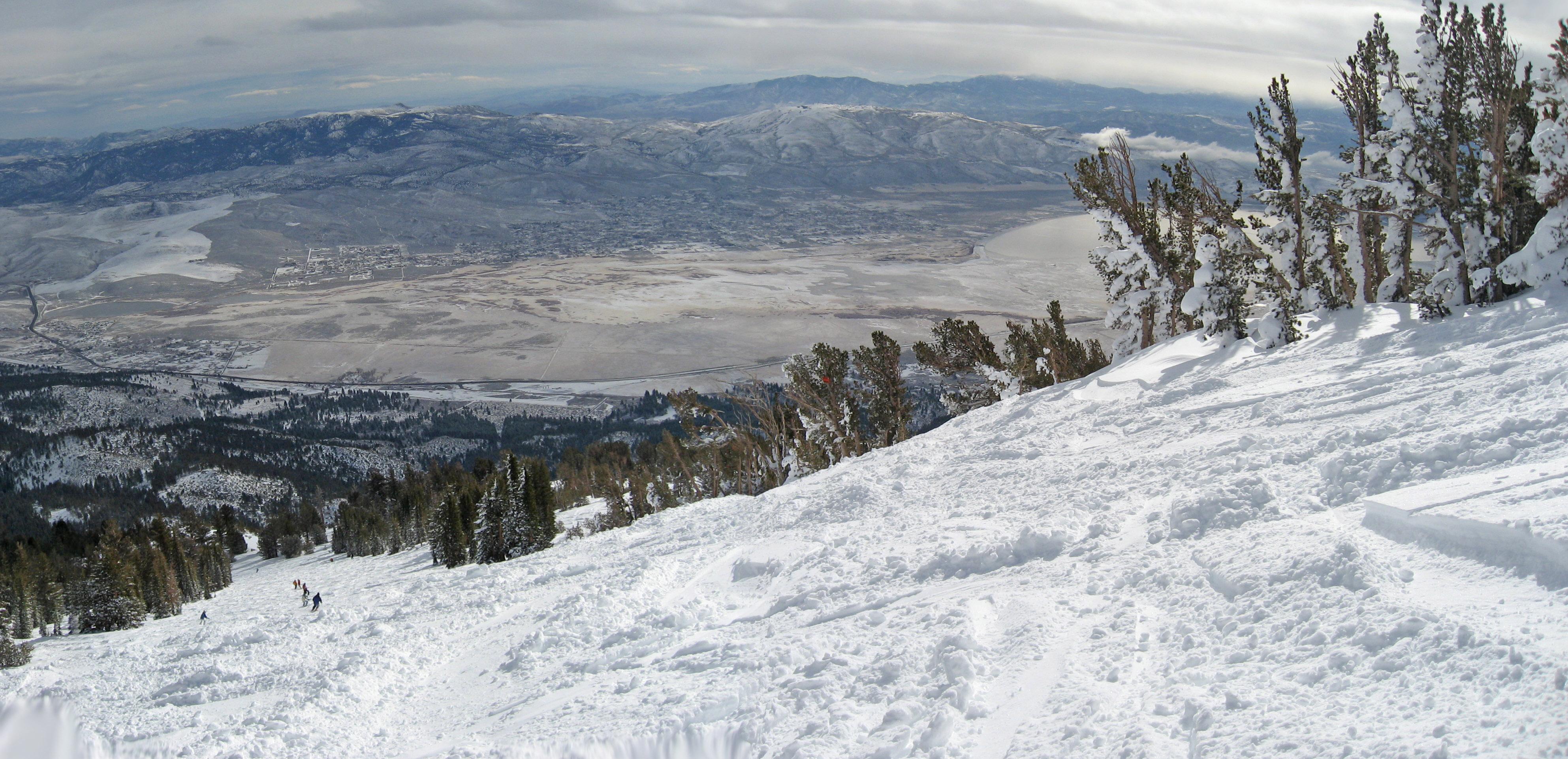 2009 Lake Tahoe, Squaw Valley, Mt Rose Ski Trip