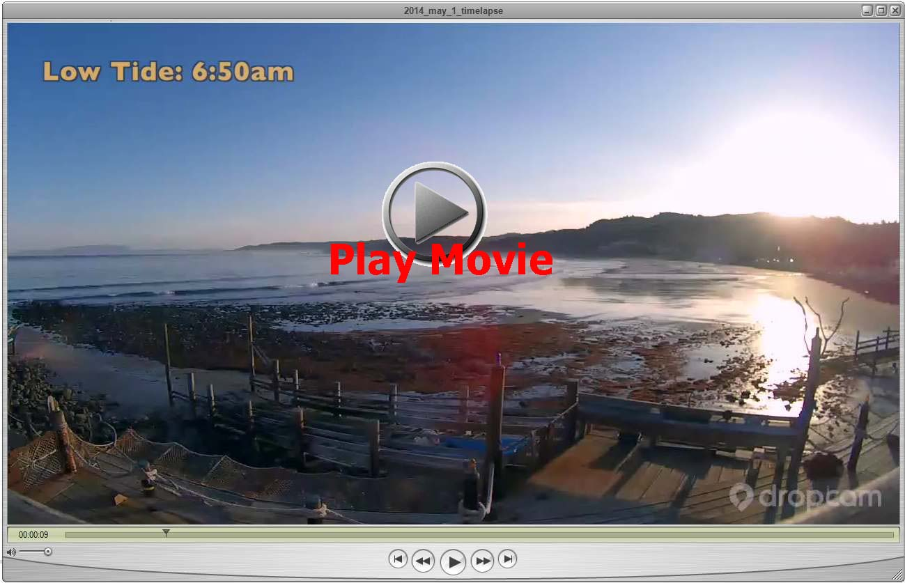Brians beach cottage on 512014 thursday the movie below shows 15 hours in a 90 second time lapse click here for the highest quality original nvjuhfo Choice Image