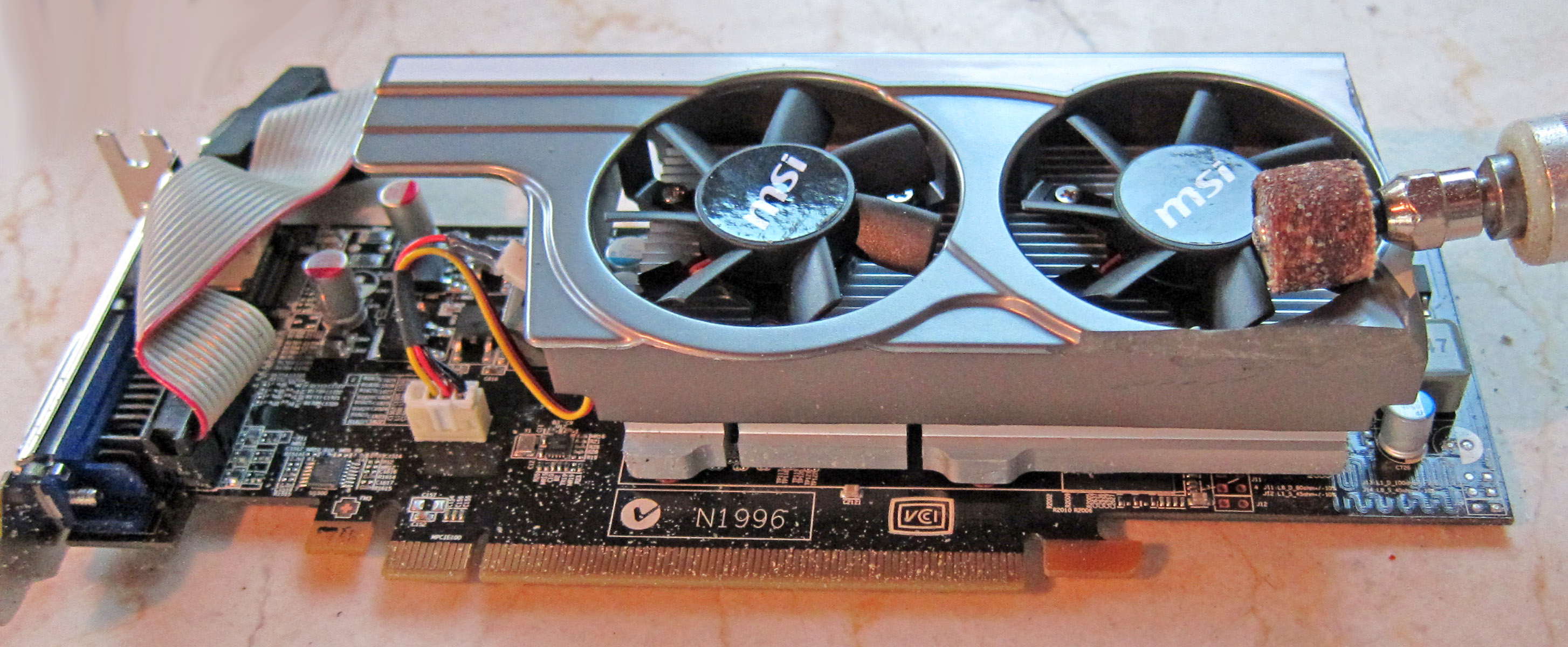 2011 Low Profile Gaming Graphics Card