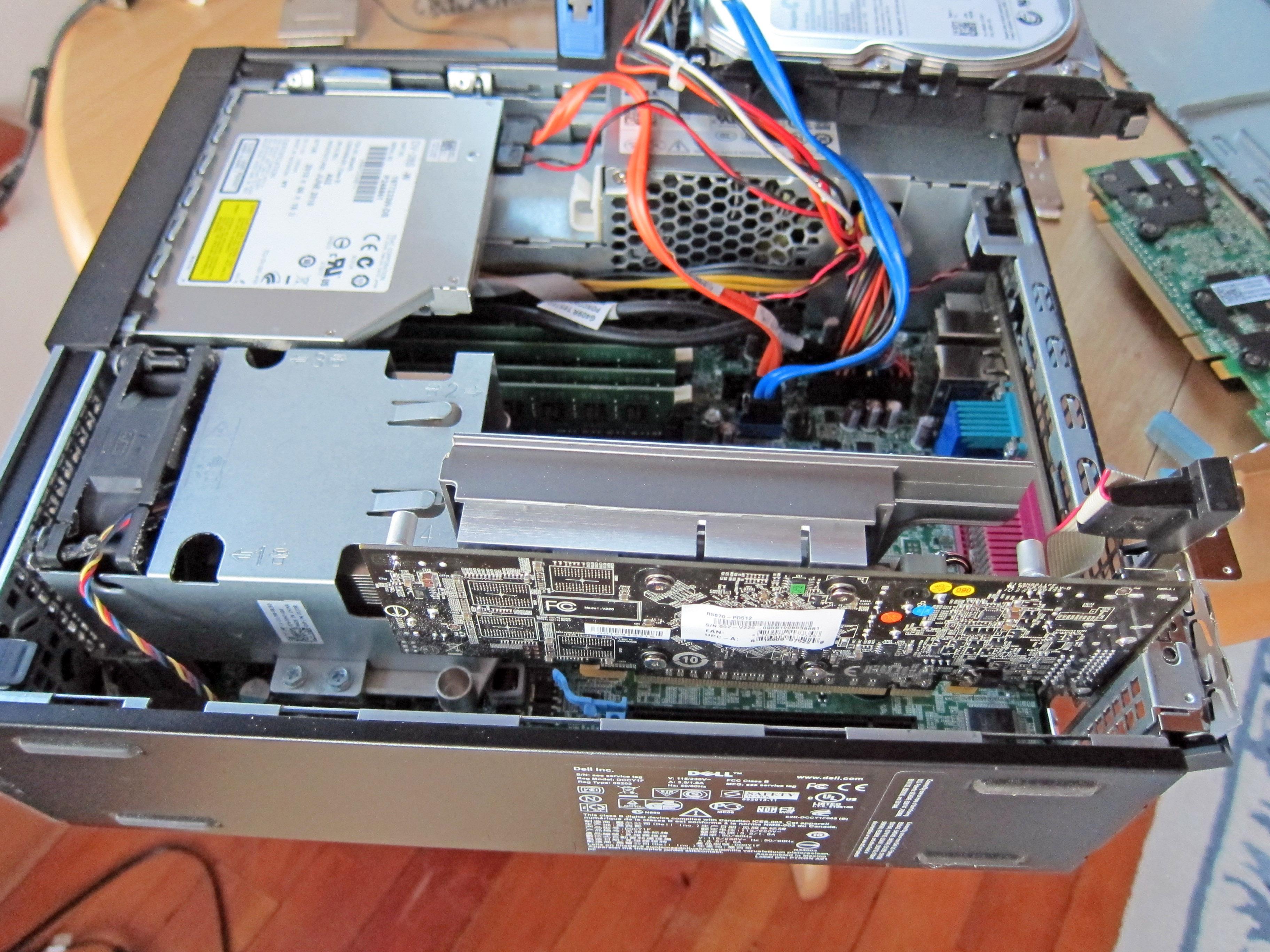 Slash Over Speaker Even When Dell Optiplex Drivers Are Downloaded