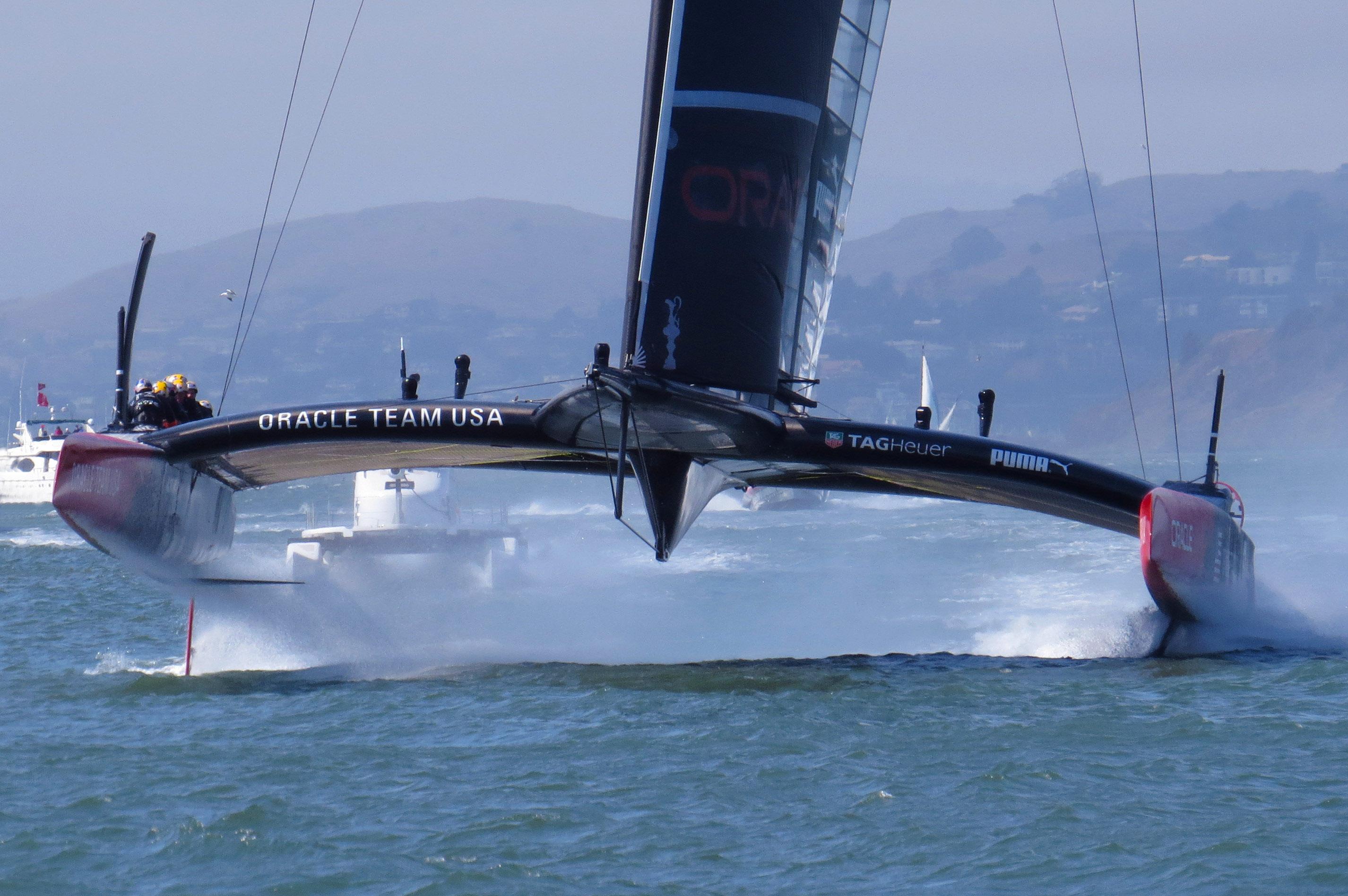 2013 America S Cup Backblaze Company Sailing Trip