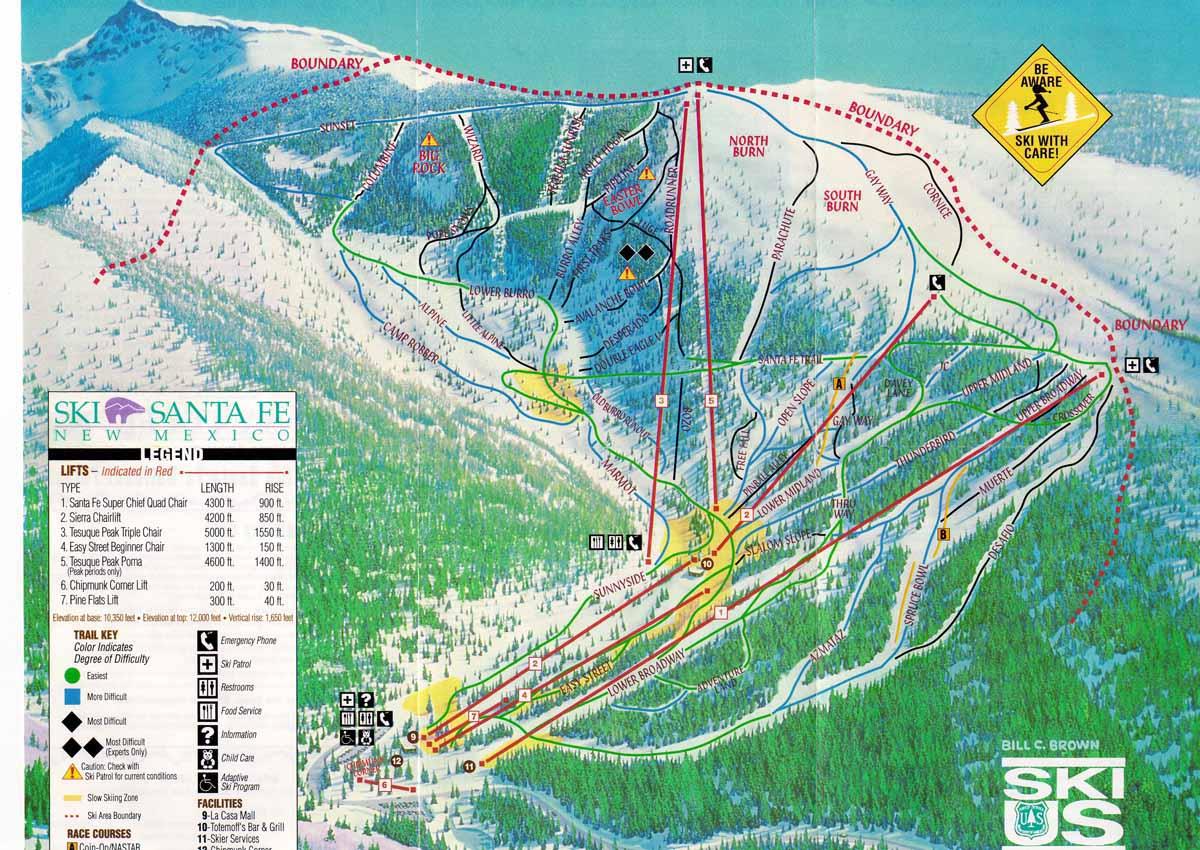 santa fe ski resort