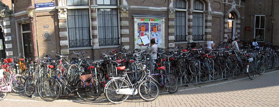 Bikes In Amsterdam via dutchamsterdam nl