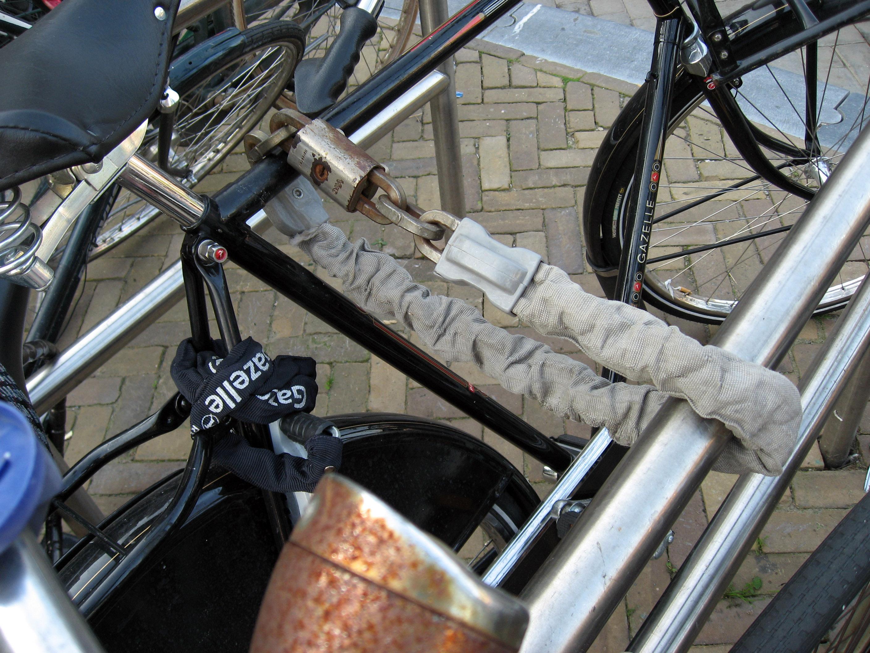 Bike Chain Locks Then Again Locking One Bike