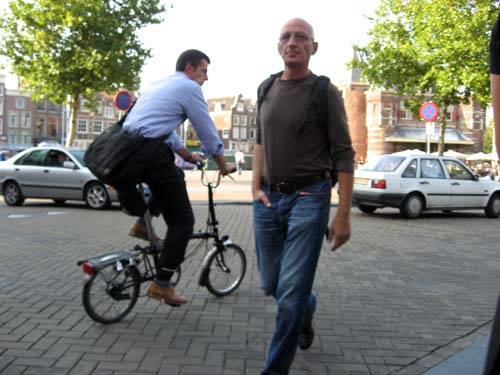 Dutch Bikes For Tall Men Another guy on a bicycle with