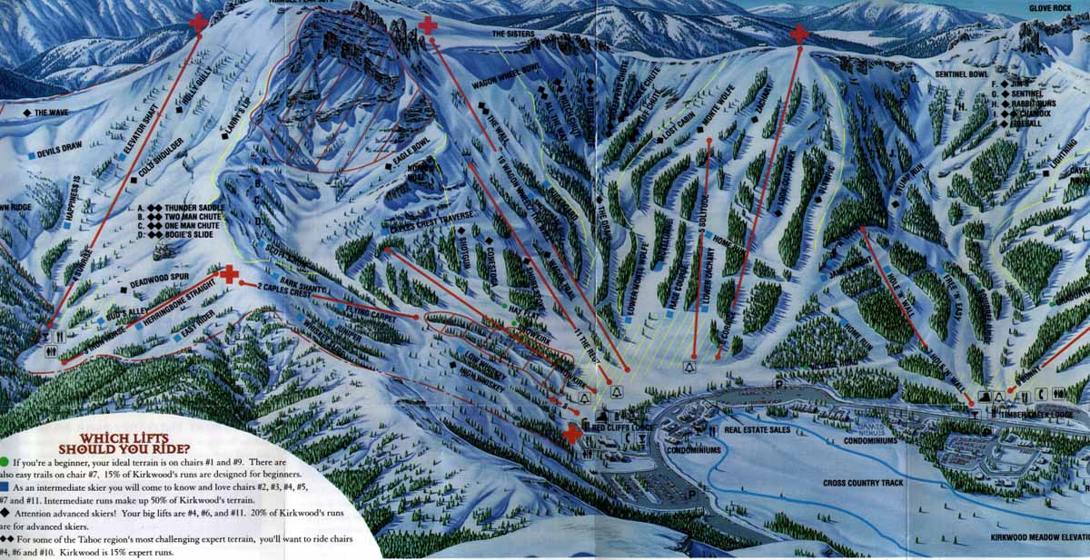 Kirkwood ski resort for The kirkwood
