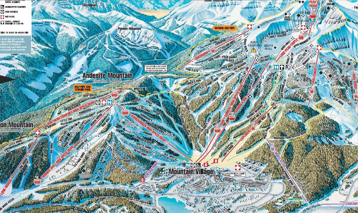 skiing big sky montana 2005