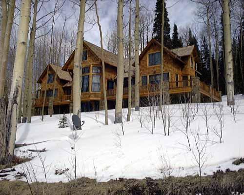 Telluride Log Cabin Home Omahdesigns Net